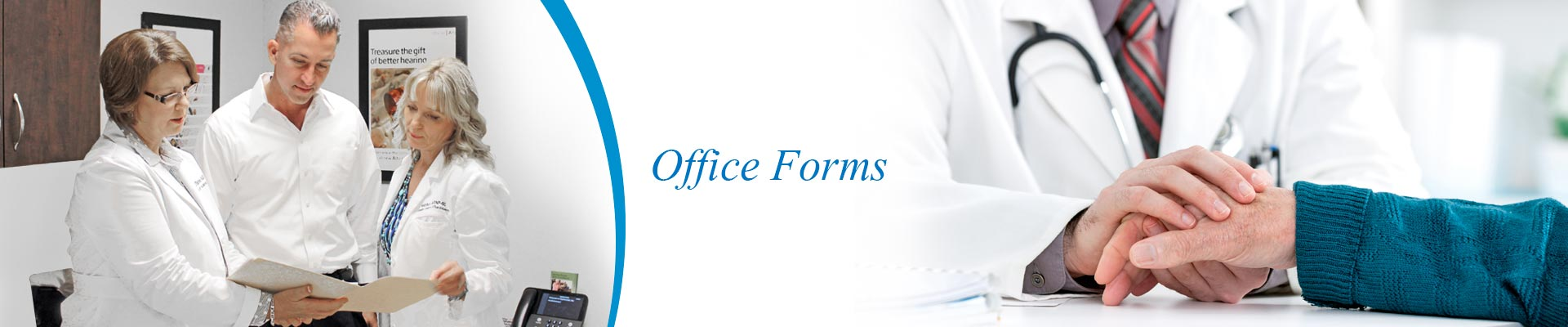 Coastal ENT Office forms